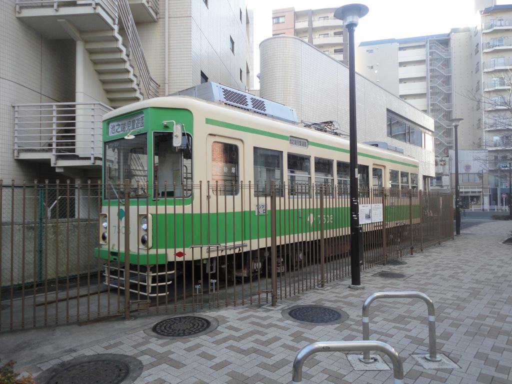 Японку в трамвае 1 фотография